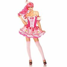 Babycake Costume XS Pink Cupcake Candyland Dirndl NEW Sexy Leg Avenue Costume