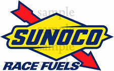 2 INCH SUNOCO RACEING DECAL STICKER