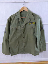 #04 US ARMY USMC WW2 / Vietnam HBT Feldjacke Feldhemd Drillich Uniform Twill