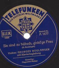 Georges Boulanger : Sie sind zu hübsch, gnädige Frau + Flageolett-Walzer