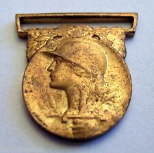 MINIATURE médaille commémorative 1914 / 1918, hauteur totale: 17 mm, sans ruban.