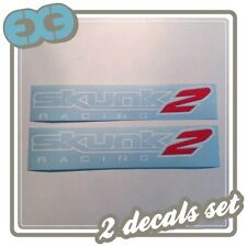 x2 Sponsor Logo Decals Car Tuning Auto Window Bumper Mod Part JDM Sticker Acura