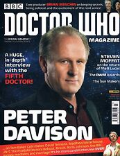 Doctor Who Magazine #503 Peter Davidson Interview Steven Moffat Sun Makers 2016