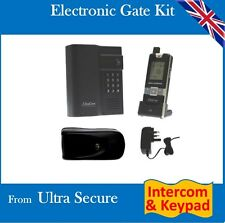 12v Electronic Gate Gate Lock & Long Range Wireless Intercom with Digital Keypad