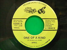 April Straten One Of A Kind Call Me Each Evening 1970s 45 Jacket Records 10305 A