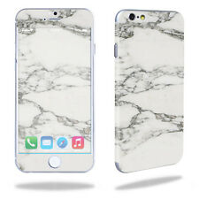 Skin Decal Wrap for Apple iPhone 6/6S cover sticker White Marble