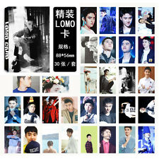 NEW 30pcs set Kpop EXO D.O. Dohkyungsoo Personal Photo Picture Poster Lomo Card