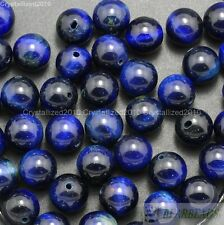 Wholesale Natural Gemstone Round Spacer Beads 8mm Lapis Crystal Quartz Mixed New