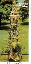 DOUBLE PLANT HANGER~Vintage Pattern Book~Huge WALL HANGING~Mad About Macrame 2