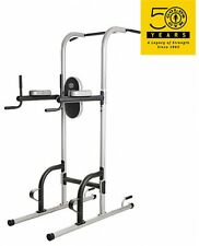 Pull Up Workout Station Home Gym Tower Exercise Equipment Strength Body Training