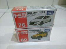 Tomica 76 Honda Civic Type R & 80 Jeep Wrangler