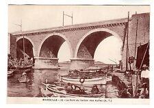 Le Pont Du Vallon - Marseille Photo Postcard c1920s