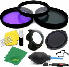 58MM UV/CPL/FLD HD FILTER KIT + ACCESSORIES FOR CANON EOS REBEL 1100D 20D 60D T1
