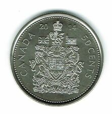 2014-M Canadian Brilliant Uncirculated Fifty Cent coin!