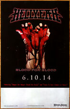 HELLYEAH Blood For Blood Ltd Ed 2014 New RARE Poster +FREE Metal/Rock Poster!