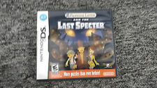 Professor Layton and the Last Specter Nintendo DS Lite DSi XL w/Case & Manual