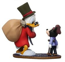 Disney Mickey's Christmas Carol Scrooge & Tiny Tim Figure Figurine Cake Topper