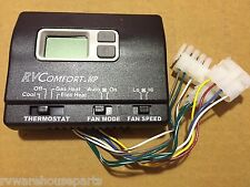 Coleman 8530-3391 Black Digital Wall Thermostat for Heat Pump