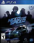 Need for Speed (Sony PlayStation 4, PS4, 2015) - COMPLETE