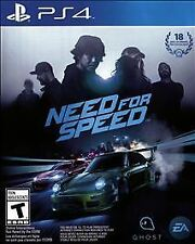 Need for Speed (Sony PlayStation 4, 2015) Mint Condition