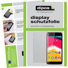 2x Wiko Rainbow Jam / Jam 4G Schutzfolie matt Displayschutzfolie Folie dipos