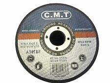 100 PACK 4-1/2'' x 1/16'' x 7/8'' CUT OFF WHEEL STAINLESS STEEL CUTTING DISCS