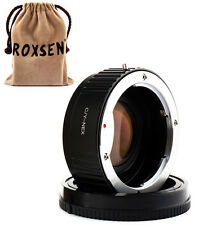 Focal Reducer Speed Booster Adapter Contax C/Y CY lens to Sony NEX E Mount A5100