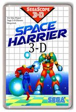 SPACE HARRIER 3D SEGA MASTER SYSTEM FRIDGE MAGNET IMAN NEVERA
