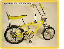 1972 Schwinn Lemon Peeler Sting Ray Bike Refrigerator / Tool Box  Magnet