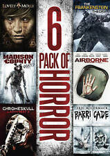 6-Pack of Horror Lovely Molly, Airborne, Chromeskull: Laid to Rest 2, Barricade