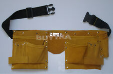Practical Faux Leather Pouch Tool Belt Holder Electrician Construction Carpenter