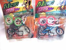 "BICYCLE TOY-ONE:GREEN -DOLL HOUSE MINIATURE 1-12=4-3/4"" L=CAKE TOPPER-DECORATION"