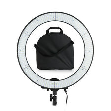 600PCS LED Adjustable Video Studio Photography Ring Light Kit + Bag + Diffuser