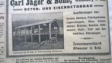 1911 74 Brücke Köln Rhein / Lagerhaus Ditterbach Zollverwaltung