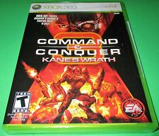 Command & Conquer:  Kane's Wrath Xbox 360 *Factory Sealed! *Free Shipping!