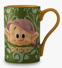 NEW DISNEY STORE DOPEY SNOW WHITE SEVEN DWARFS  7 BLEND MUG CUP