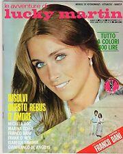 fotoromanzo LE AVVENTURE DI LUCKY MARTIN ANNO 1977 NUMERO 110 O' NEIL DANI COFFA