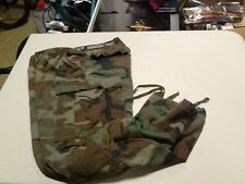 1980's Military PANTS Medium reg. BDU Woodland Camouflage 50/50 Combat Trouser