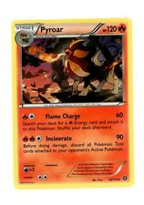 Pyroar 23/114 NORMAL RARE NM Pokemon Steam Siege TCG