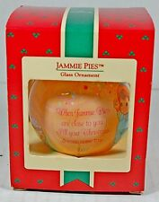 VTG 1987 Hallmark Christmas Ornament Jammie Pies Keepsake Playskool Spunkle NEW