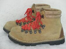 Vtg Thom Mcan Vibram made in Italy Mountaineering Leather Hiking Boots Size 5