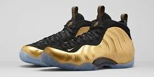 NIKE AIR FOAMPOSITE ONE METALLIC GOLD size 9. 314996-700 jordan penny