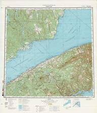 Russian Soviet Military Topographic Maps - RIMOUSKI (Canada), 1:500K, ed. 1985