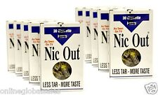 Nic-Out Disposable Cigarette Filters 10 Packs (300 filters) ~Free Shipping!