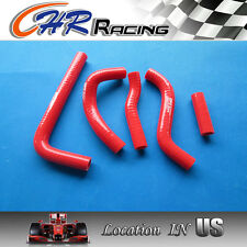 Silicone Radiator Hose Kit for Suzuki RMZ250 RMZ 250 2010 2011 2012 10 11 12 red