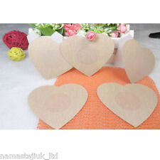 20 x Nipple Covers Breast Invisible Instant Bra Lift Sticker Tape Love Shape UK