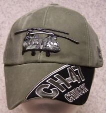 Embroidered Baseball Cap Military Helicopter CH-47 Chinook NEW 1 hat fits all