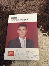 ANDREW PLANT (BBC POINTS WEST) SIGNED CAST CARD