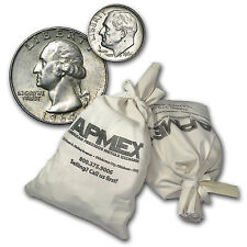 90% Silver Coins - Various Denomination - $50 Face Value Bag - Sku #68839