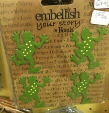 Embellish Your Story Magnet - 4 Frogs